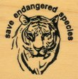 Save Endangered Species - Rubber Stamps