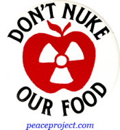 B101 - Don't Nuke Our Food - Button