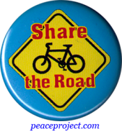 Share the Road - Button