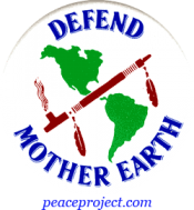 B200 - Defend Mother Earth - Button
