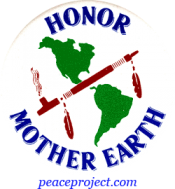 B202 - Honor Mother Earth - Button