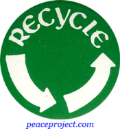 B224 - Recycle - Button