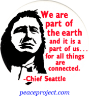 B260 - We Are a Part Of The Earth and It Is a Part Of Us... - Button