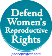 B281 - Defend Women's Reproductive Rights - Button