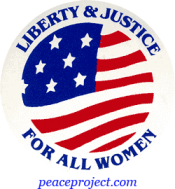 B284 - Liberty And Justice For All Women - Button