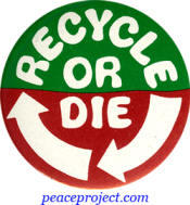 B365 - Recycle Or Die - Button