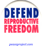 B382 - Defend Reproductive Freedom - Button
