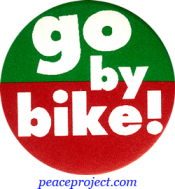B440 - Go By Bike - Button