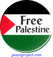 B605 - Free Palestine - Button