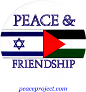 B721 - Peace And Friendship - Button