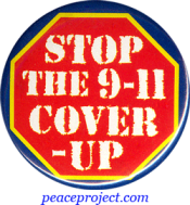 B752 - Stop The 9/11 Cover Up - Button
