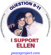 B753 - Question 9/11 - I Support Ellen - Button