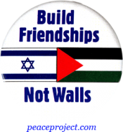Build Friendships, Not Walls - Button