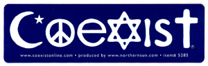 MS142 - Coexist - Mini-Sticker