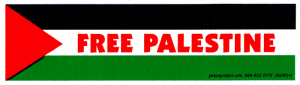 MS024 - Free Palestine - Mini-Sticker