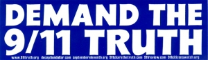 S380 - Demand the 9/11 Truth - Bumper Sticker