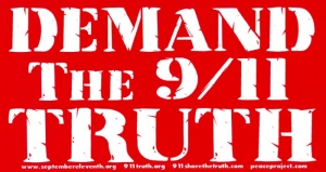 S382 - Demand the 9/11 Truth - Bumper Sticker