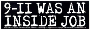 S392 - 9-11 was an Inside Job - Bumper Sticker