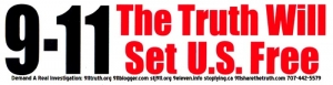S400 - 9-11 The Truth Will Set Us Free - Bumper Sticker