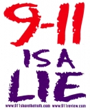 S428 - 9/11 is a Lie - Bumper Sticker