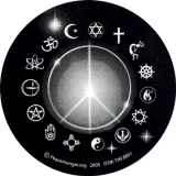 SX21 - Peace Light - Bumper Sticker