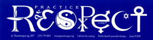 SX27 - Practice Respect - Bumper Sticker