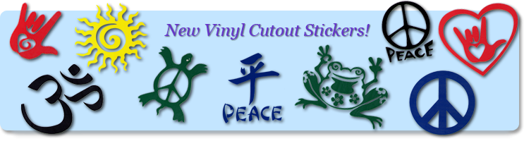 Vinyl Cutout Stickers