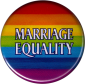B1218 Marriage Equality Rainbow - Button
