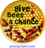 Give Bees A Chance - Button