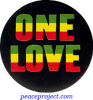 One Love - Button