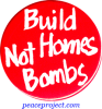 B273 - Build Homes Not Bombs - Button