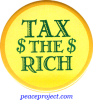 B0505 - Tax The Rich - Button