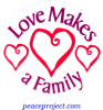 B508 - Love Makes A Family - Button