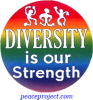 B599 - Diversity Is Our Strength - Button