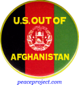 U.S. Out Of Afghanistan - Button