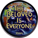 B1215 - The Beloved is Everyone - Rumi - Button