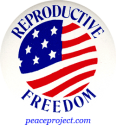 B283 - Reproductive Freedom - Button