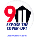 9/11 Expose The Cover - Up - Button