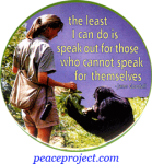The Least I Can Do Is Speak... - Jane Goodall