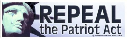 Repeal The Patriot Act - Digital Sticker