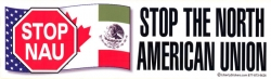 LS18 - Stop NAU: Stop the North American Union - Digital Sticker