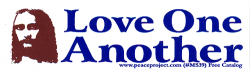 MS39 - Love One Another - Jesus - Mini-Sticker