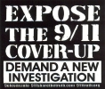 Expose the 9/11 Cover-Up - Demand a New Investigation - Mini-Sticker