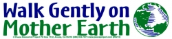 S272 - Walk Gently On Mother Earth - Bumper Sticker