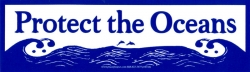S516 - Protect Our Oceans - Bumper Sticker