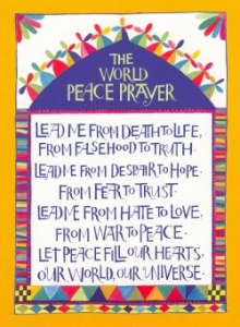 PC07 - World Peace Prayer - Postcard