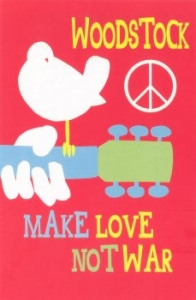 Woodstock: Make Love Not War - Postcard