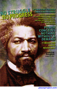 Frederick Douglass - Power Concedes Nothing - Postcard