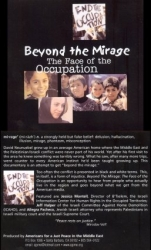 DVD032 - Beyond The Mirage: The Face of the Occupation DVD