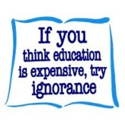 If You Think Education Is Expensive, Try Ignorance (On White) - Women's T-Shirt